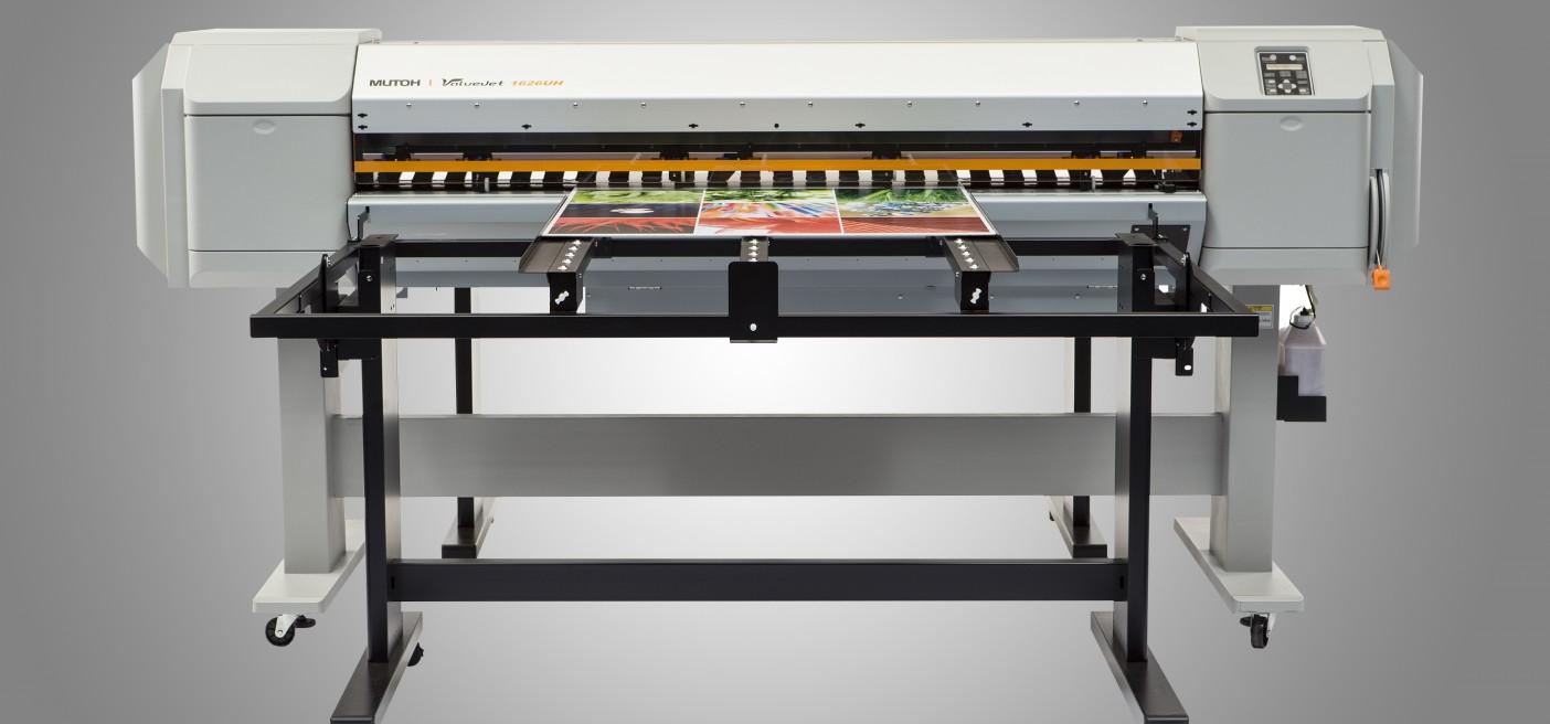 Ploter LED-UV: Mutoh ValueJet 1626 UH ze stołem