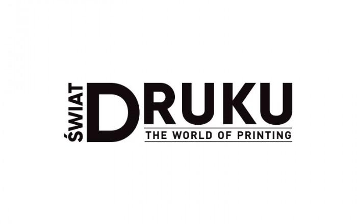 świat druku - logo