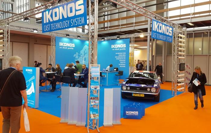 Setki firm zainteresowanych materiałami IKONOS na targach FESPA
