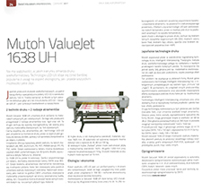 Mutoch ValueJet 1638 UH