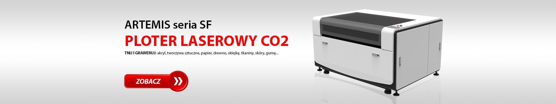 Ploter laserowy CO2 / Laser CO2