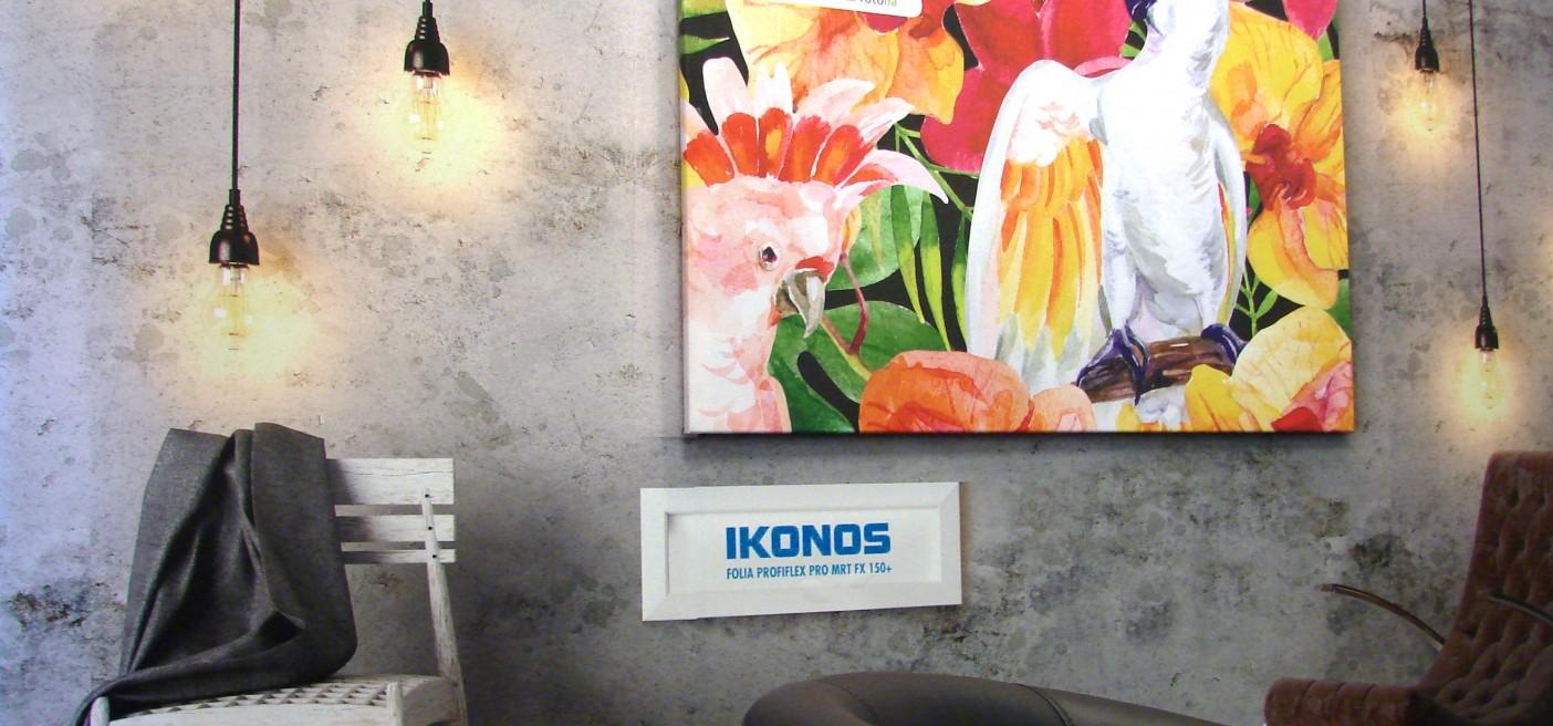 Folia Ikonos na ściany zamiast tapety