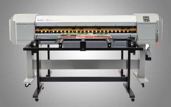 Ploter LED-UV: Mutoh ValueJet 1626 UH ze stołem